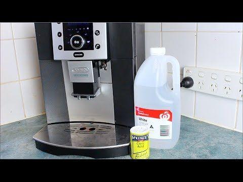 Homemade Coffee Descaler How To Video Nespresso Coffee Maker Homemade Coffee Diy Coffee Maker