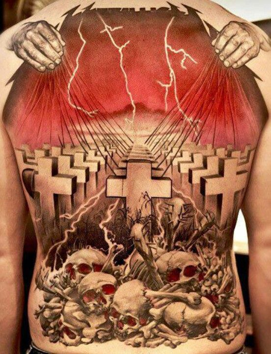 5bd5657f5 Metallica tattoo Get tickets to even the most sold out gigs at  www.tikbuzz.co.uk