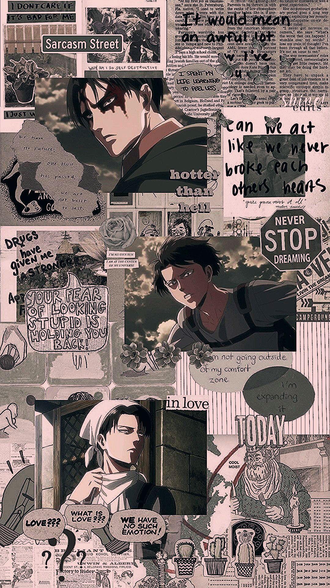 Shingeki No Kyojin Levi Ackerman Anime Wallpaper Iphone Cute Anime Wallpaper Anime Backgrounds Wallpapers