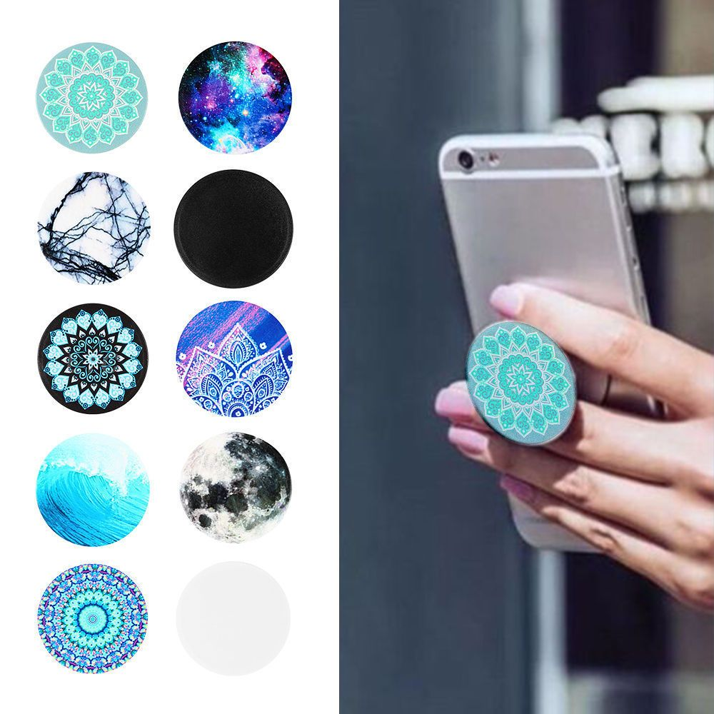 sports shoes 14769 3820a Universal Pop Socket Style Phone Holder Grip Stand Tablet Car Case ...
