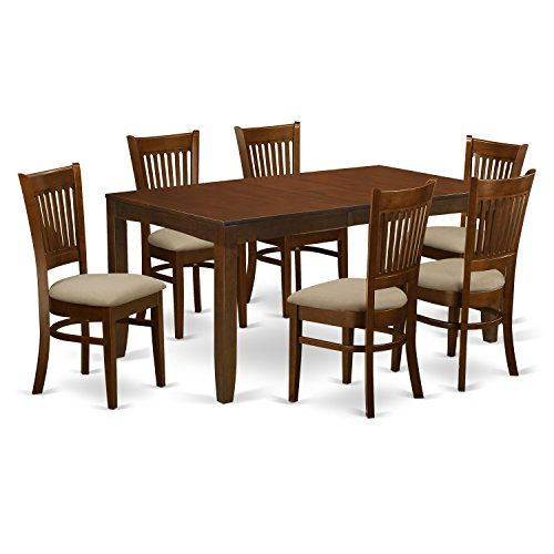 33++ Modern rectangular wood 7 pc dining table and chairs set Tips