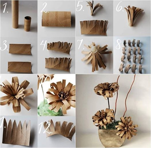 Creative ways to use toilet paper rolls