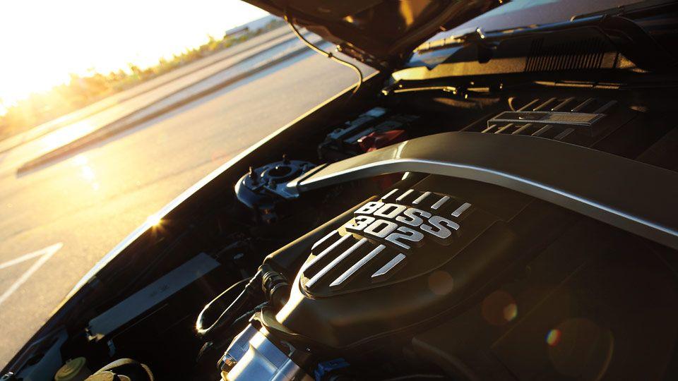BOSS 302 Mustang (Under the Hood) Mustang, Boss 302