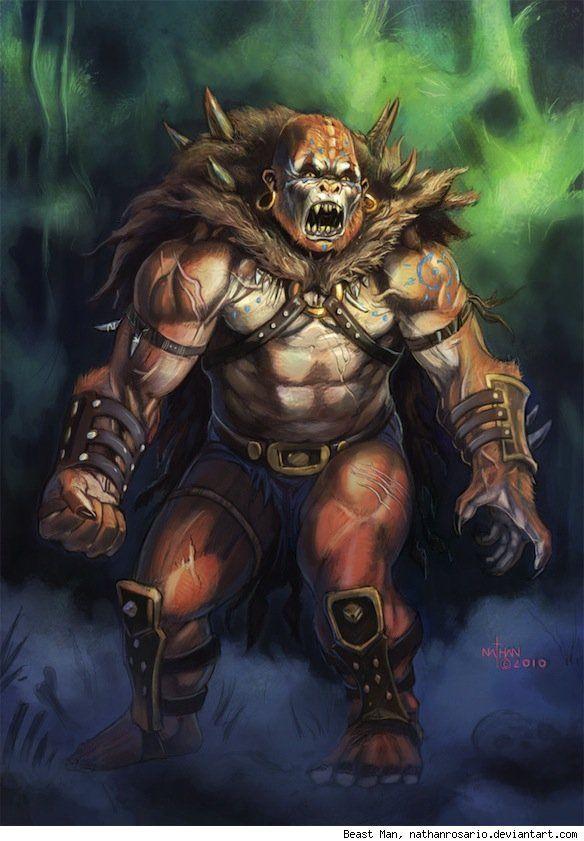Beast man   He man   He man villains, Universe art, Art