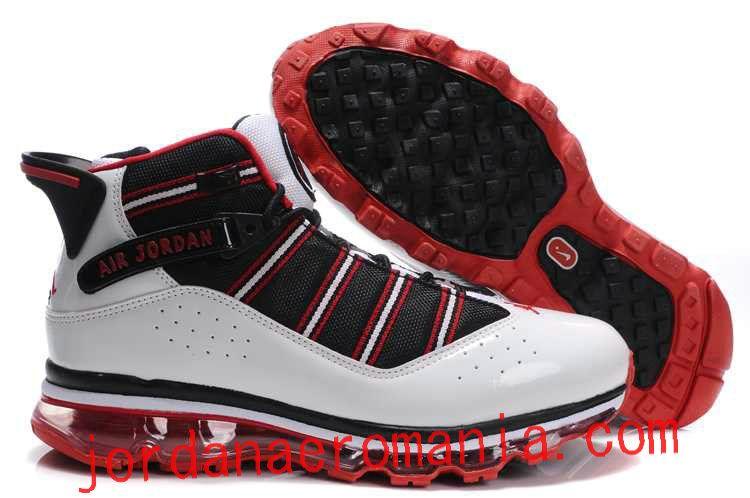 Acheter Chaussures Air Jordan 6(Six) Rings Air Max 2009 Sole Fusion Blanc  Noir