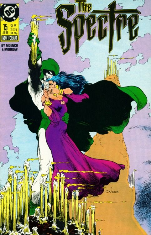 The Spectre #15 cover by Charles Vess