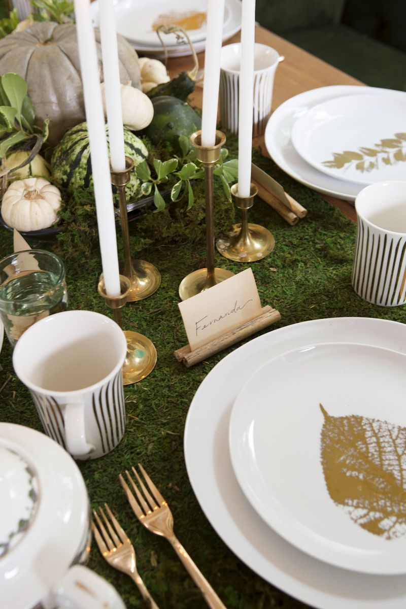 Decorating Ideas to Take Your Thanksgiving Celebration to the Next Level #tischdekoherbstesstisch