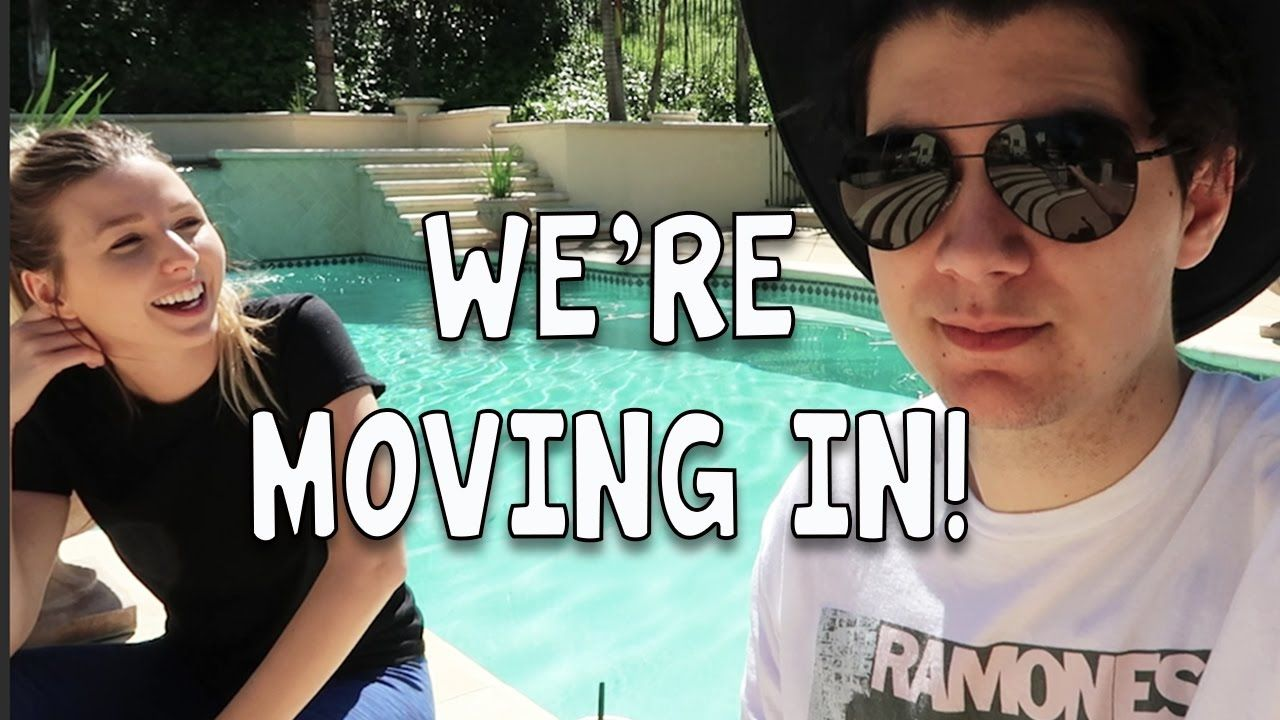 WE'RE MOVING IN!