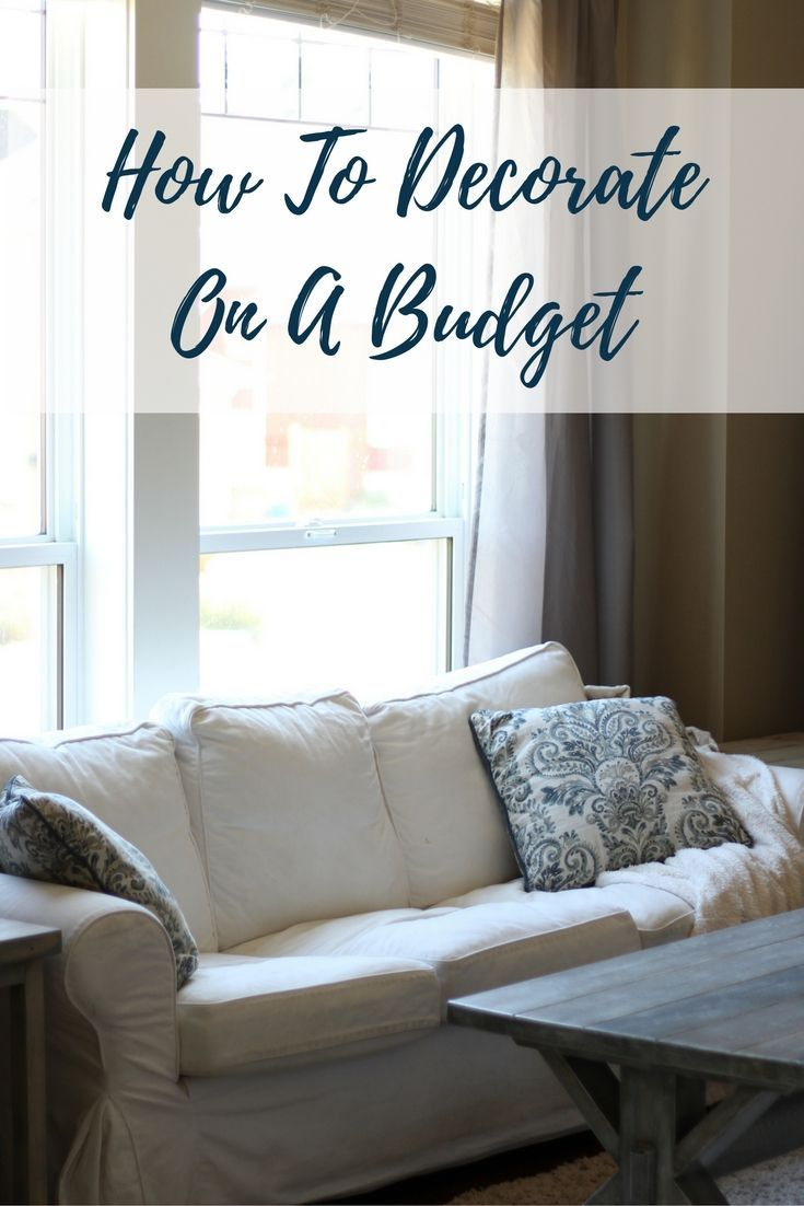 How To Decorate On A Budget Frugal Decor Cheap Decor Rustic Farmhouse Style