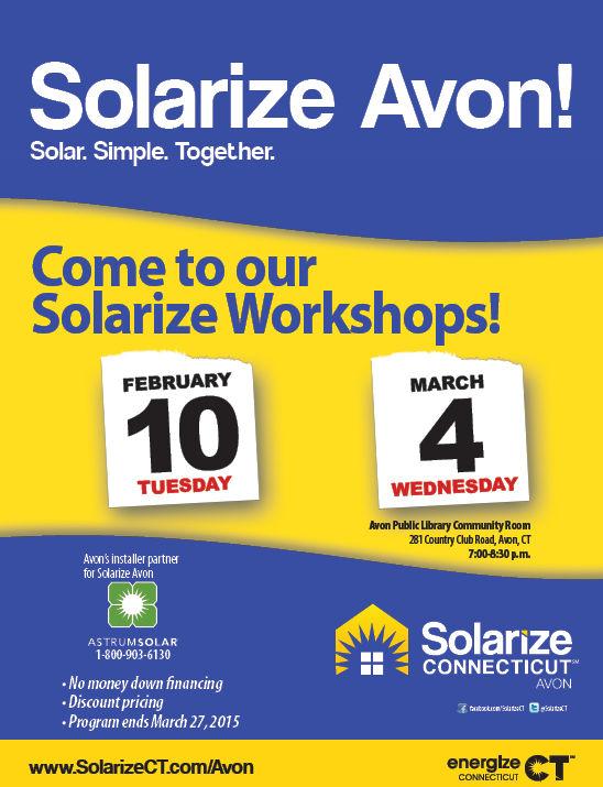 Solarize Avon Workshop