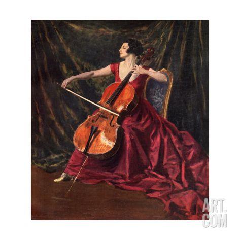 Madame Suggia, 1920-1923 Giclee Print by Augustus John at Art.co.uk