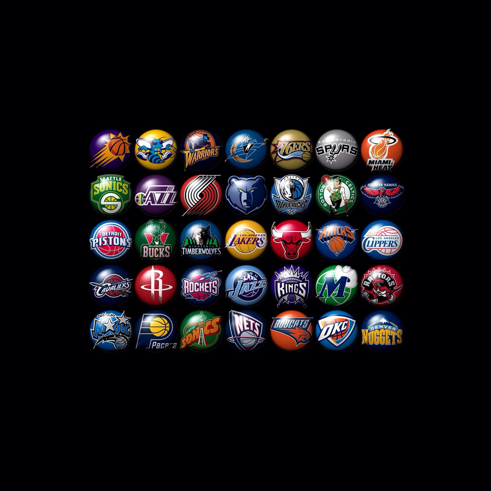 Nba Teams: Backgrounds And Wallpapers