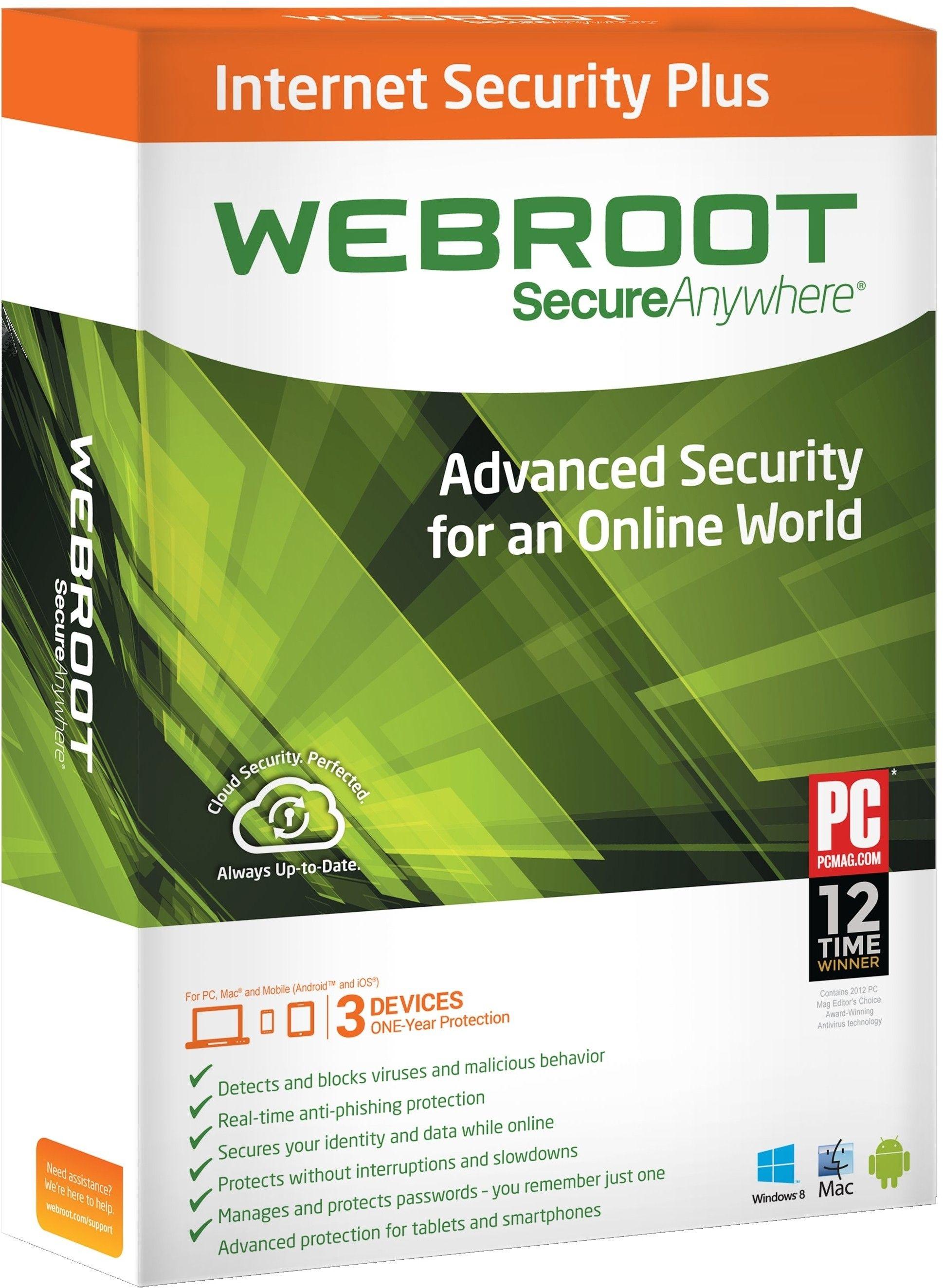 Webroot SecureAnywhere Antivirus 2017 Key Code & License