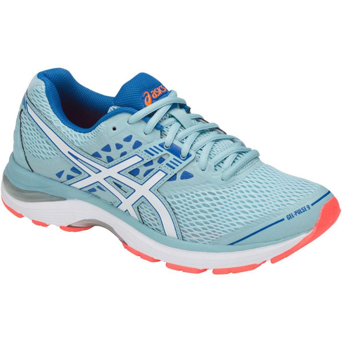 Asics Gel Pulse 9 W T7d8n 1401 Blue Asics Running Shoes Design Asics Running Shoes