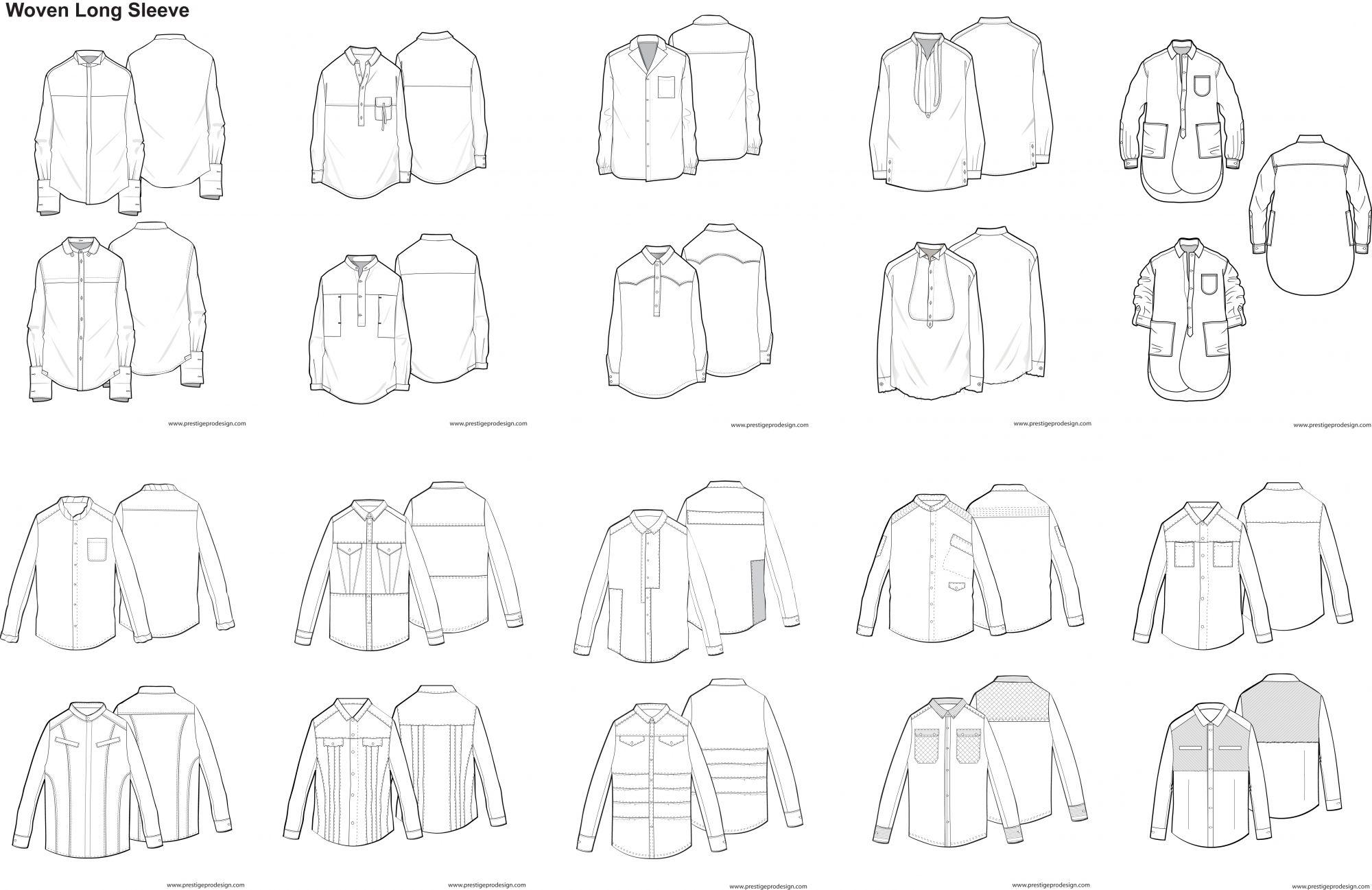 Illustrator Fashion Design Template | szablony ubran | Pinterest ...