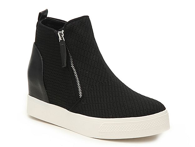 5387469b0d9 Women Loxley Wedge High-Top Sneaker -Black in 2019 | Products ...