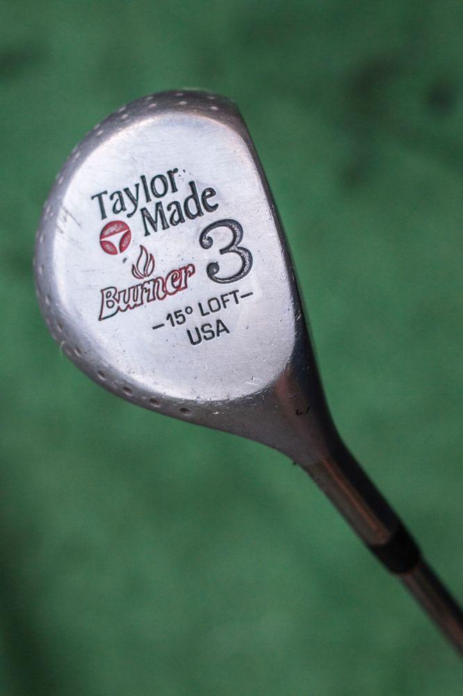 TaylorMade Burner 15 degree fairway wood - vintage used ...