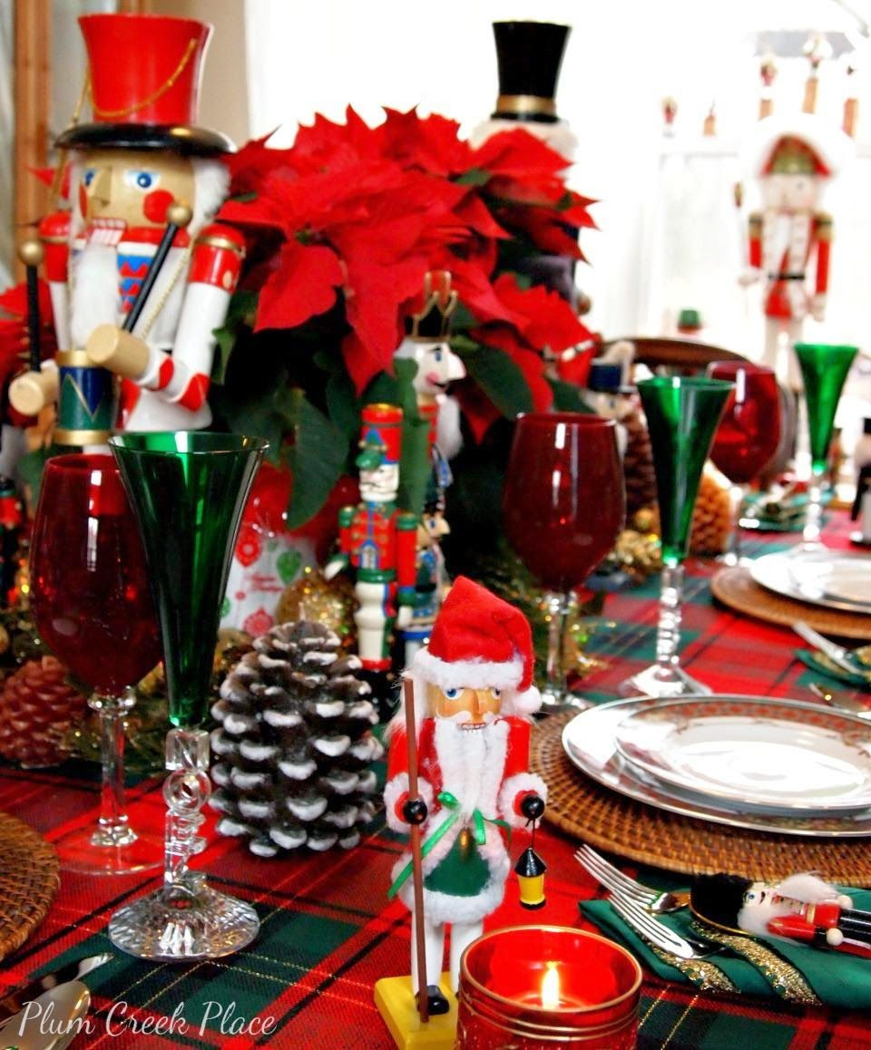 Plum Creek Place Merry Christmas To All Holiday Tablescape Christmas Door Decorations Christmas Settings Holiday Tablescapes