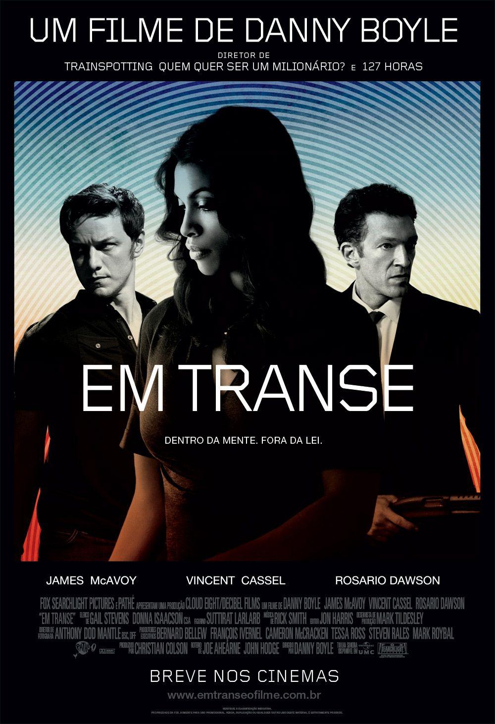 Um Filme De Danny Boyle Com James Mcavoy Vincent Cassel Rosario