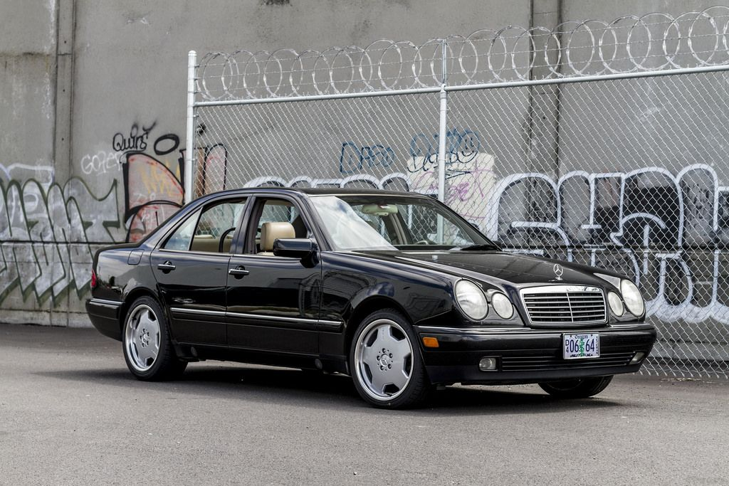 A third euro brand appeared in my driveway mercedes w210