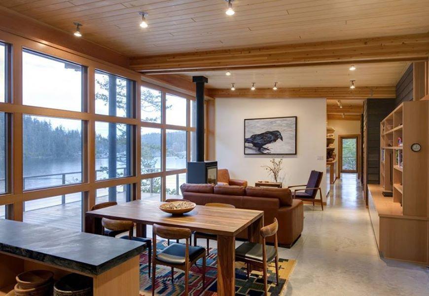 Cabin On Cortes Island By Balance Associates Architects Interior Furniture  Design