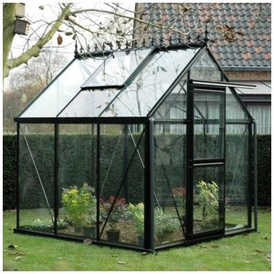 Junior 8 Ft W X 10 Ft D Greenhouse Serre Jardin Jardins