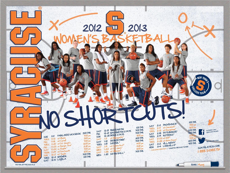 Women S Basketball 2012 2013 Poster No Shortcuts Team Photography Basketball Design Basketball Teams