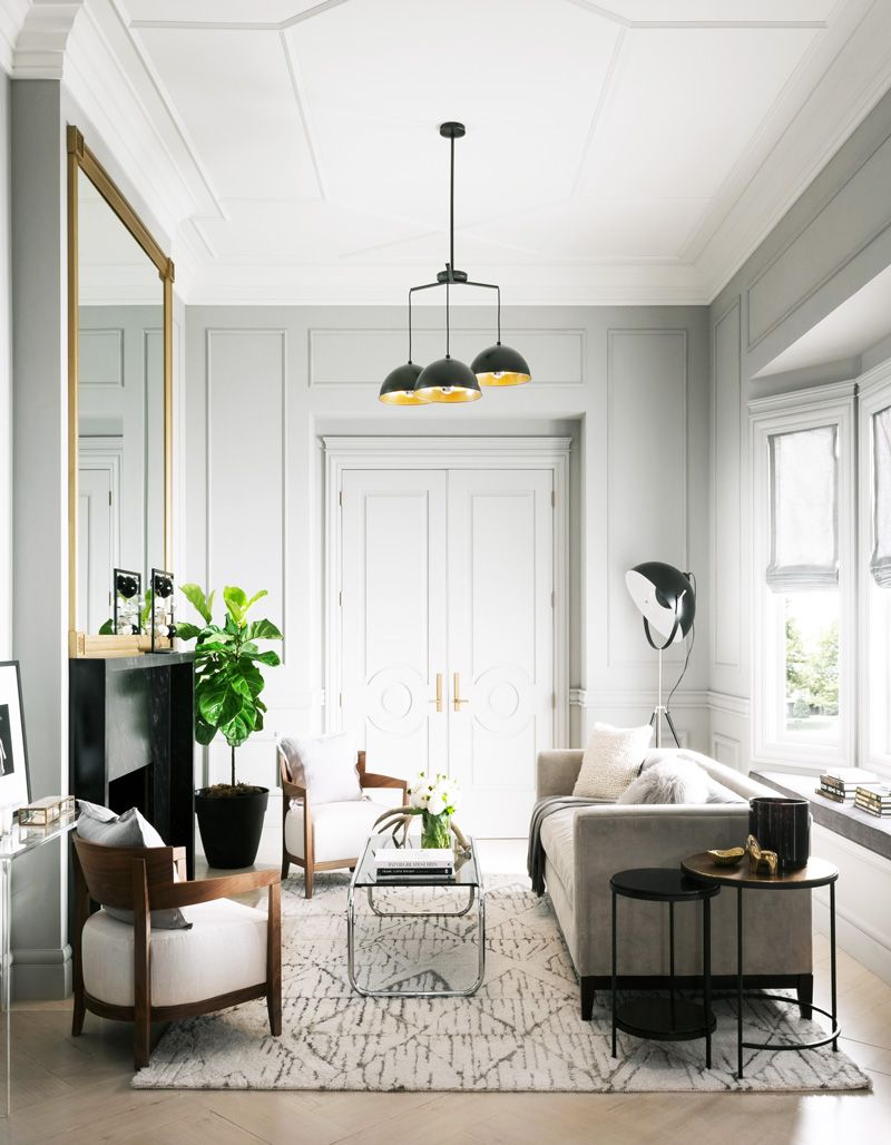 Elevated Style with Moulding & Trim | Fashion forward, Living rooms ...