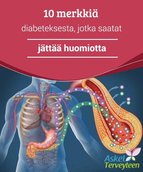 10 merkkiä diabeteksesta, jotka saatat jättää huomiotta  Vaikka saatatkin yhdistää nämä oireet harmittomiin sairauksiin tai ilmiöihin, ne tulisi ottaa huomioon vakavammin, mikäli ne ilmenevät yhdellä kertaa. Ne saattavat nimittäin tällöin olla merkki diabeteksesta.