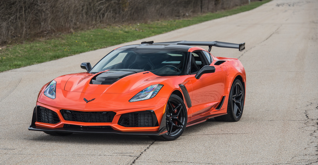 Dreamer Garage — topvehicles 2019 Corvette ZR1 via reddit