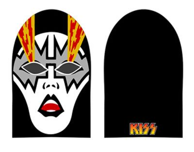Kiss Ace Frehley Mask Beanie Hat Look Like Your Favourite Member