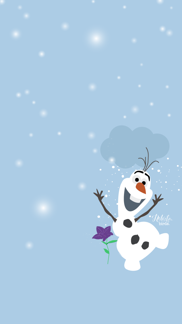 Olaf iphone5 2 wallpapers disney other pinterest - Debut de l hiver ...
