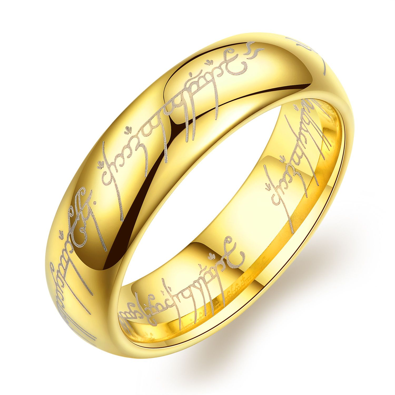 Ginger Lyne Collection Tungsten Carbine Wedding Band Men Women One Ring Of Power Ginger Lyne Walmart Com Promise Rings For Guys Rings Mens Wedding Bands Tungsten Carbide Wedding Bands