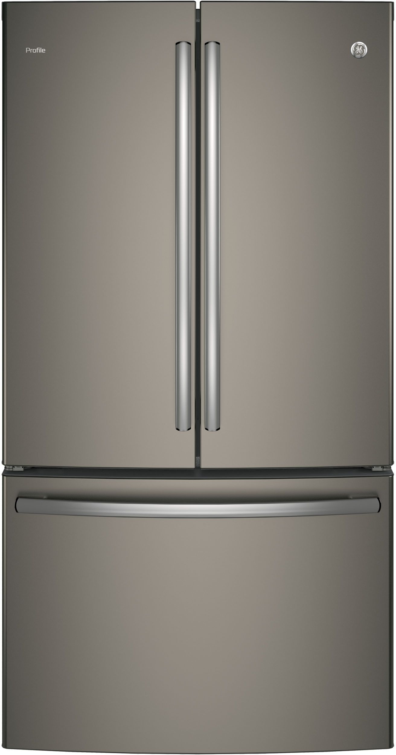Ge Profile Pwe23kmkes French Door Refrigerator Modern Refrigerators French Doors