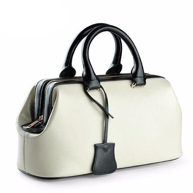 Women Handbag Genuine Leather Handbag Ladies Bag 2019 Yellow Bag For Women Luxury Handbags Women Bags Designer 2020 Goruntuler Ile Canta
