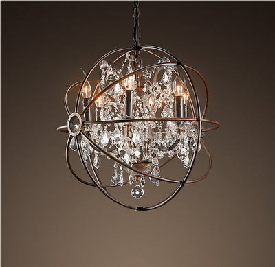 Restoration Hardware Look-Alikes: Save 1338.00 vs Restoration Hardware  Foucault's Orb Crystal Chandelier - Restoration Hardware Look-Alikes: Save 1338.00 Vs Restoration