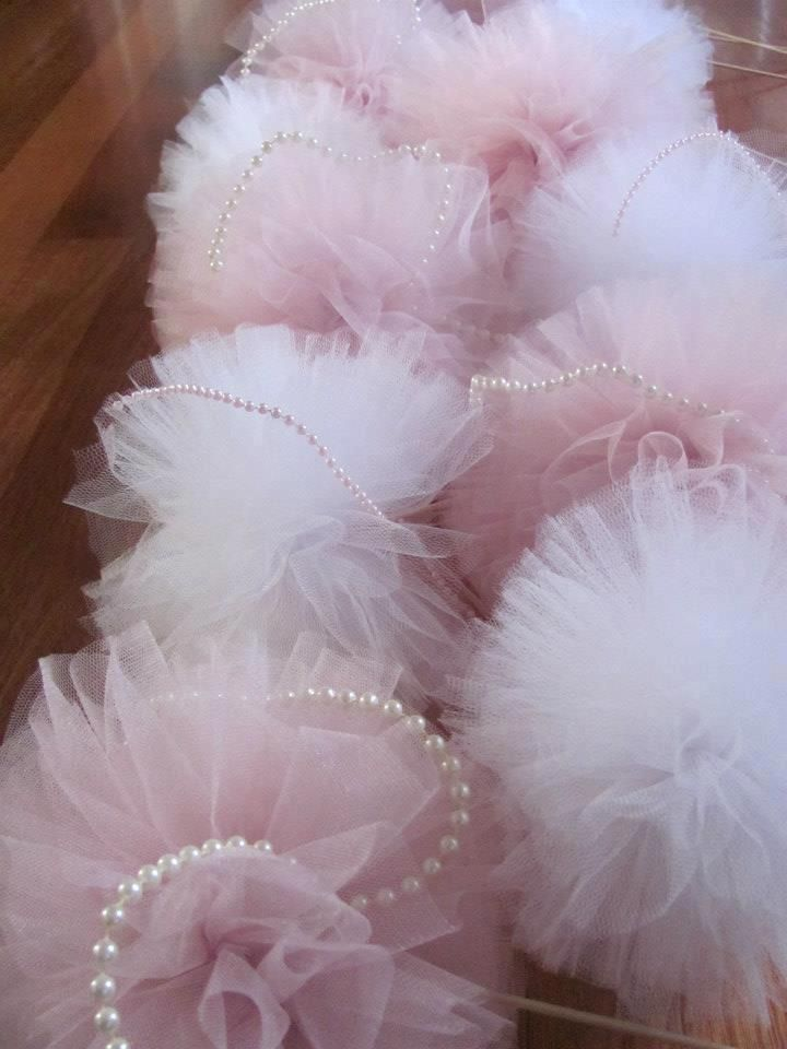 bridal shower teparty decorations%0A Pink and White Pompoms for Jackies Kitchen Tea Party xx