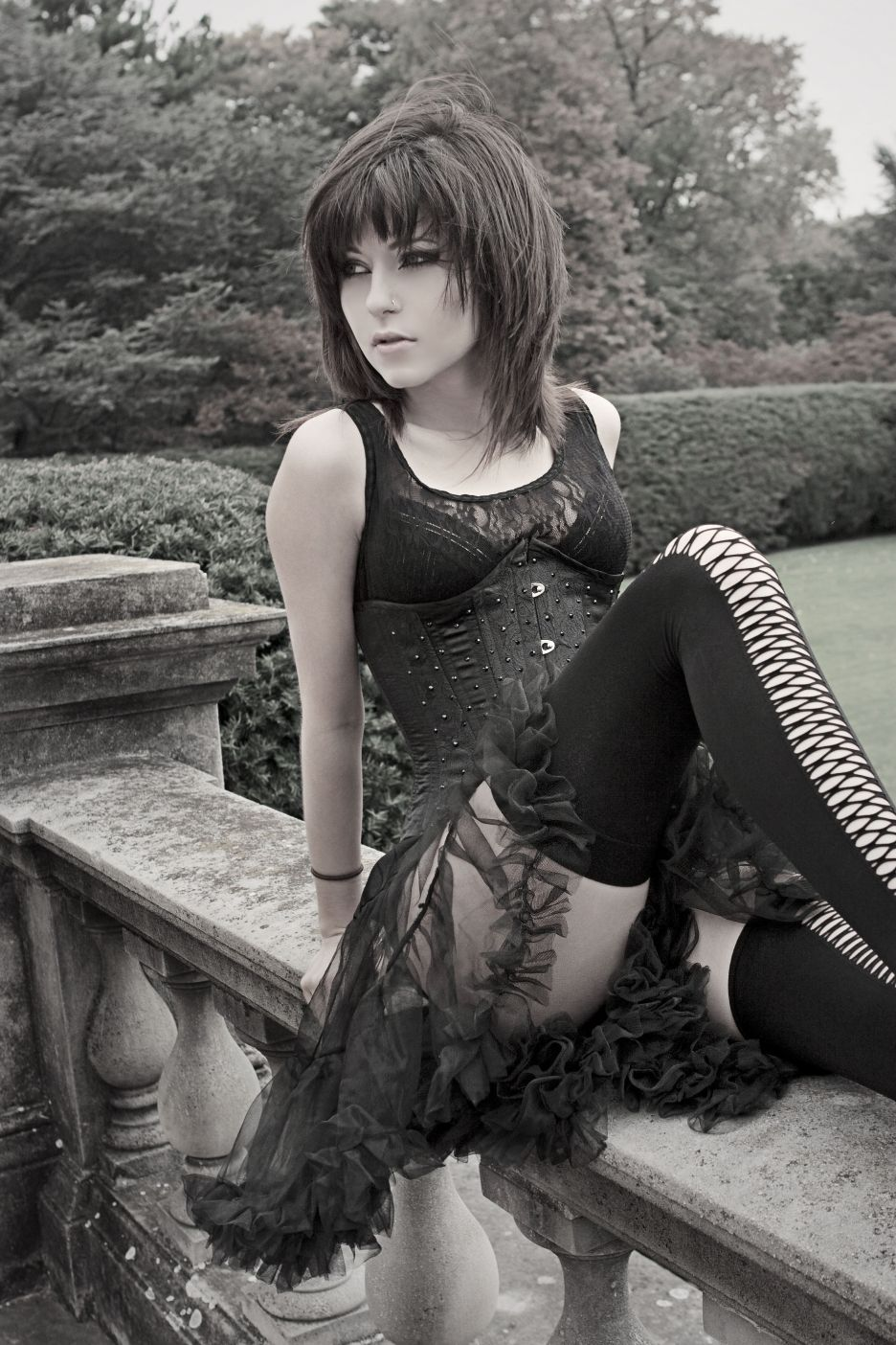 Nude Goth Girl Pics Cheap via allegedly-slit-wrists)   my aesthetic   pinterest   gothic