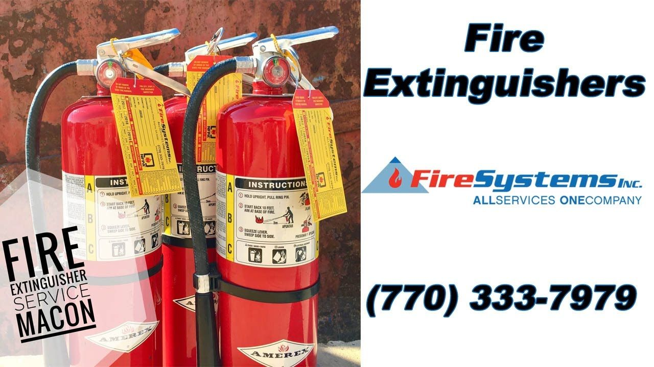Fire extinguisher service near me macon ga we are your