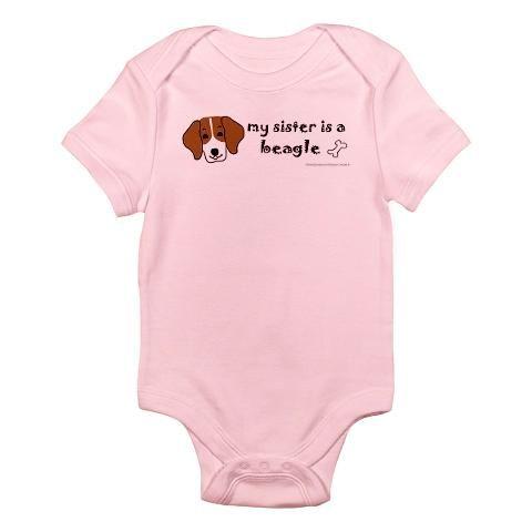 Beagle Gifts Baby Light Bodysuit Beagle Gifts Infant Bodysuit By