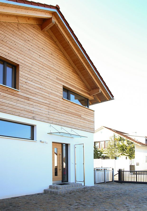 Niedrigenergiehaus in Glonn