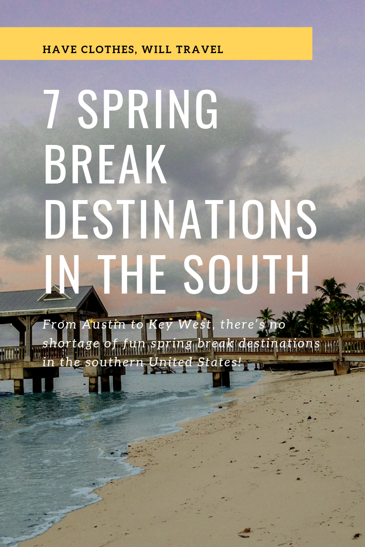 Us State Department Issues Spring Break Travel Warning For: 7 Spring Break Destinations In The South