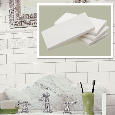 Period Perfect Details At Any Price Grout Square Feet And Subway Tiles