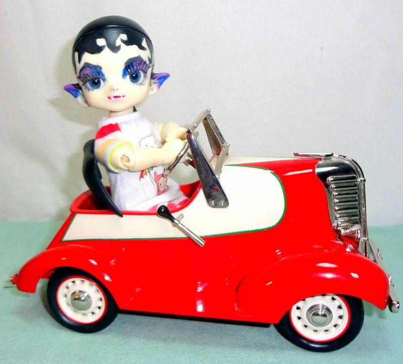 Dollzone Vampire Leo Resin 6 3 Bjd Hallmark Kiddie Pedal Car