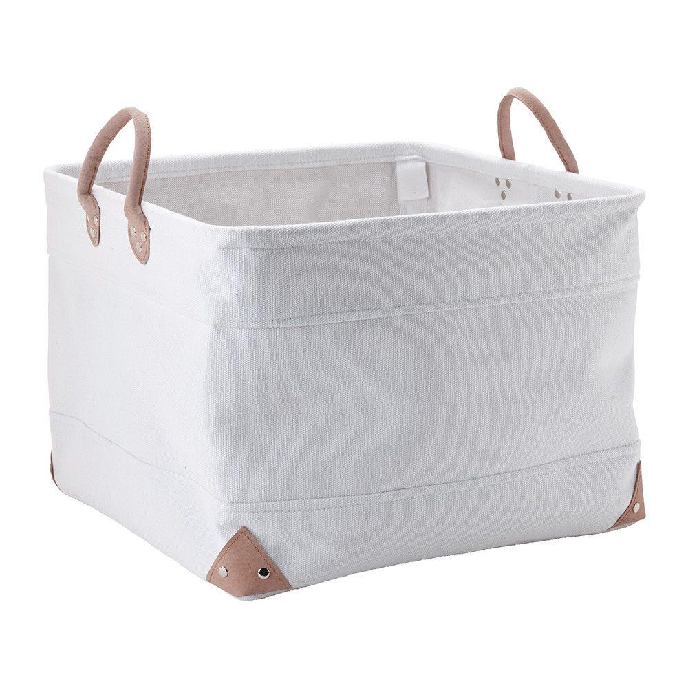 Buy Aquanova Lubin Storage Basket White Large Amara Storage Baskets Fabric Storage Baskets Stylish Storage Baskets