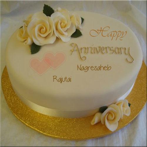 setname Happy anniversary cakes, 50th anniversary cakes