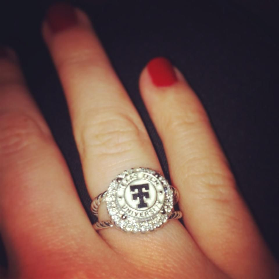 Texas Tech Ring from Stuart's Jewelers in Lubbock, TX...I ...