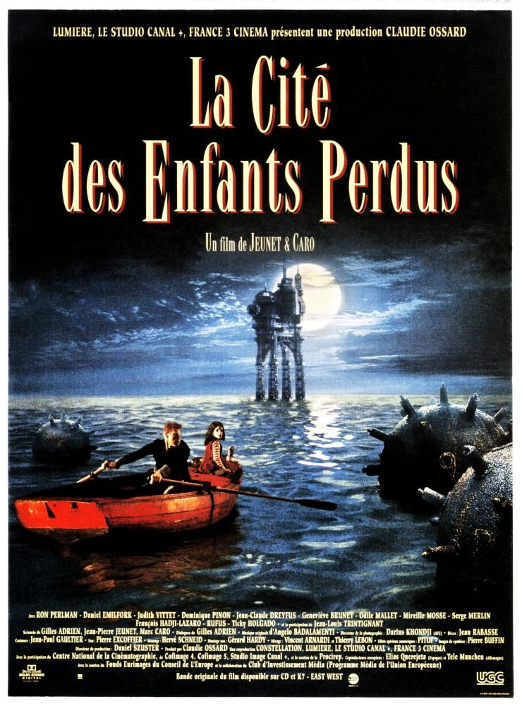 the city of lost children- poster  Losing a child Original movie posters  Ron perlman