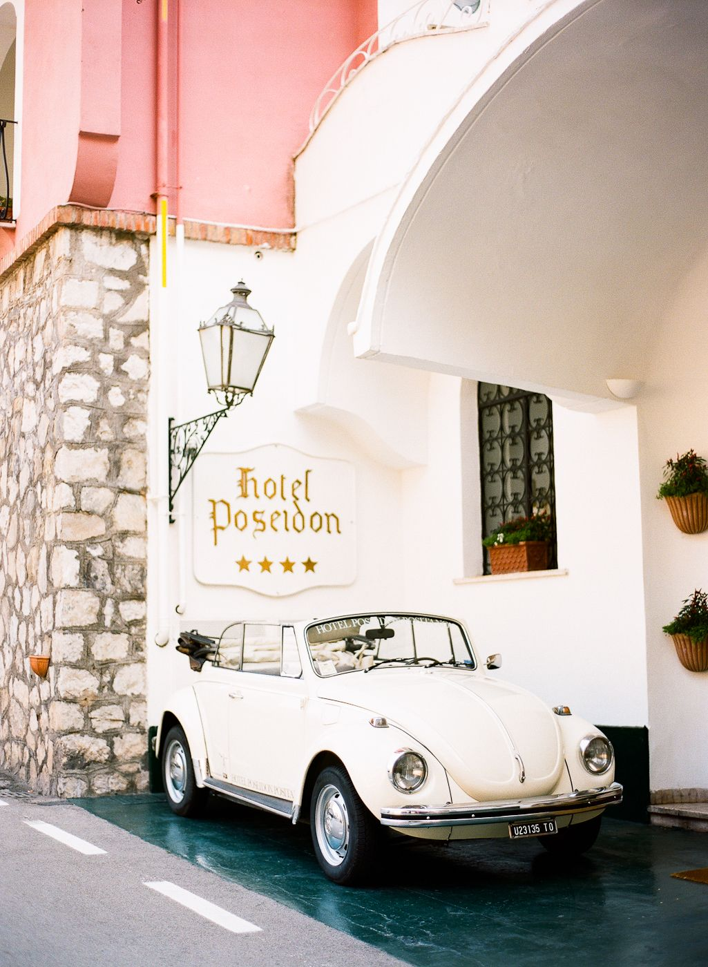 Volkswagen Bug At The Hotel Poseidon In Positano Italy Photography By Http Www Lesecretdaudrey