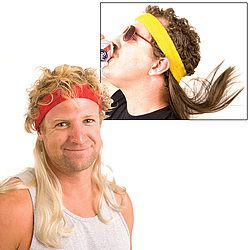 Take A Mullet To Go! Sometimes you just want to rock a mullet. Now you can at a moment's notice!